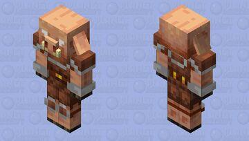Remade Piglin Minecraft Mob Skin