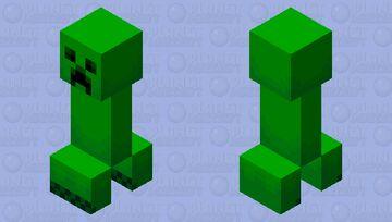 Jappa Creeper Minecraft Mob Skin