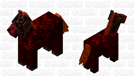 Nether Horse Minecraft Skin