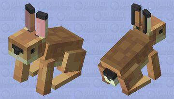 Hare Minecraft Mob Skin