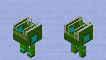 wild kratts amphi-Trek XT Minecraft Mob Skin