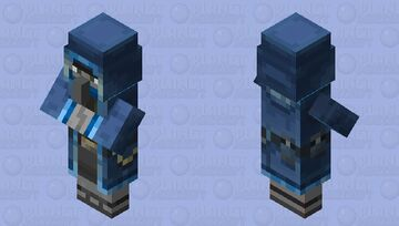 Cold Wandering Illager Minecraft Mob Skin