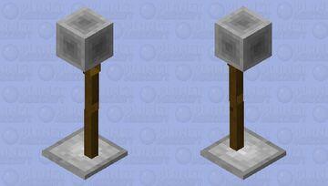 Modern Lamp Armourstand Minecraft Mob Skin