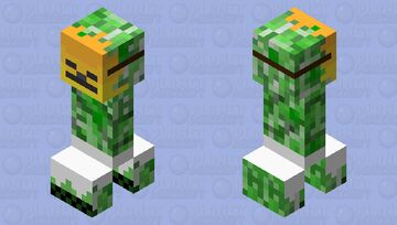 Inca creeper Minecraft Mob Skin