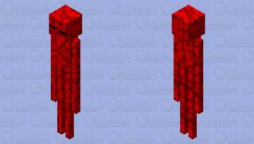 Blood Enderman Minecraft Mob Skin