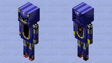 Metal Sonic Minecraft Mob Skin