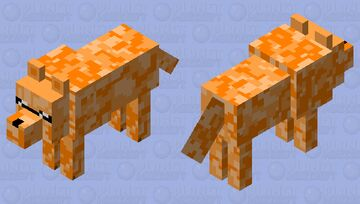 The pro dog Minecraft Mob Skin