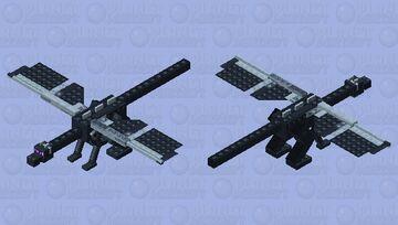 Brick Style Ender Dragon - ImperiumMC Minecraft Mob Skin