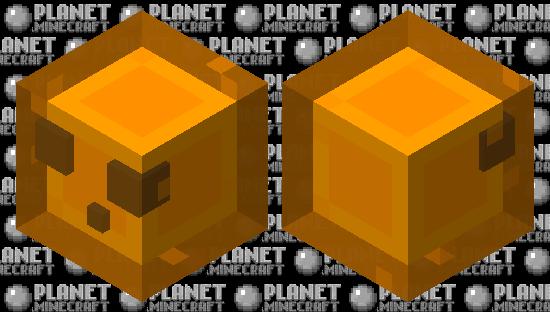 lava slime Minecraft Skin