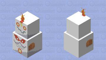 Darmanitan (zen mode/galarian forme) Minecraft Mob Skin