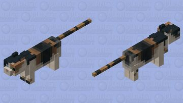 Calico Minecraft Mob Skin