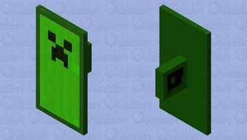 Green Minecon sheild 2020 Minecraft Mob Skin