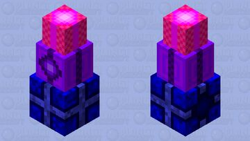 Stack of Birthday Presents Minecraft Mob Skin