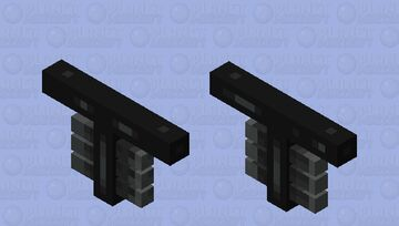 Headless Wither Minecraft Mob Skin