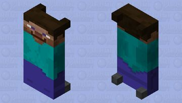 Steve Bed Minecraft Mob Skin