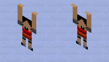 Idiot Child Minecraft Mob Skin