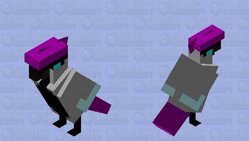 Galarian Articuno Minecraft Mob Skin