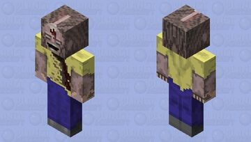What's in your head? Minecraft Mob Skin