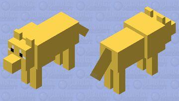 shiba inu (i tried?) Minecraft Mob Skin
