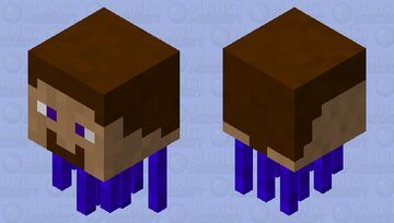 Steve The Ghast Minecraft Mob Skin