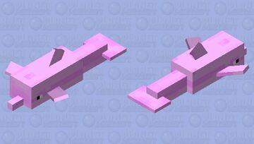 Flipper the dolphin (Aphmau Minecraft diaries) Minecraft Mob Skin