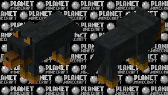 Skin de lobo Minecraft Skin