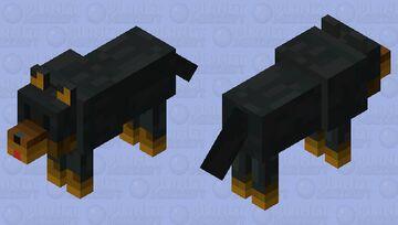 Skin de lobo Minecraft Mob Skin