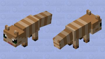 Furret Walk Minecraft Mob Skin