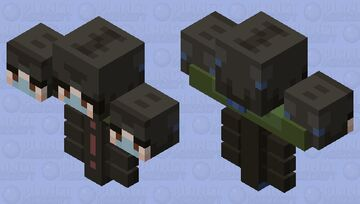 + ꜱɪɴᴜꜱ ᴡɪᴛʜᴇʀ + freaking popreel Minecraft Mob Skin