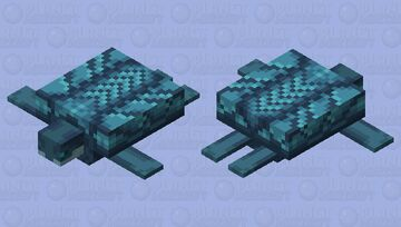 Deep Sea Dragon Turtle Minecraft Mob Skin