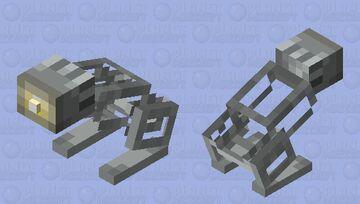Pixar Lamp / Luxo jr.(Rabbit texture) Minecraft Mob Skin