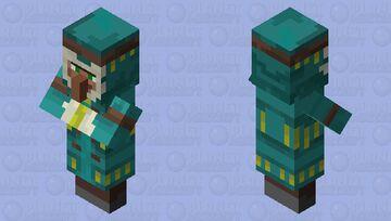 Taiga Villager [PMCRP] Minecraft Mob Skin