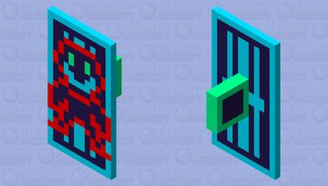 :NotSafe: Sheild   Entry PT 1 for Reality is virtual skin contest Minecraft Mob Skin