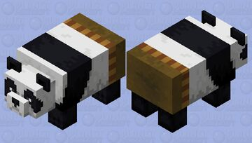 Po (Kung Fu Panda) Minecraft Mob Skin