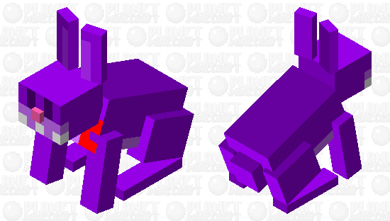 Bonnie Bunny FNAF Minecraft Skin