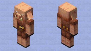 """""""Squintier-Eyed"""" Piglin Minecraft Mob Skin"""