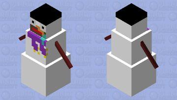 Snowman noob Minecraft Mob Skin