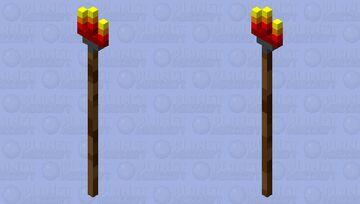tiki torch Minecraft Mob Skin
