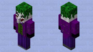 The Joker Minecraft Mob Skin
