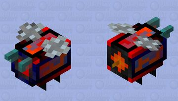 Seeker Drone (Angry) Minecraft Mob Skin