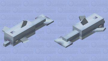 Herobrine Dolphin Minecraft Mob Skin