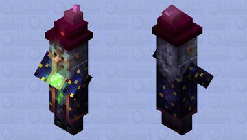 Wizard Minecraft Mob Skin