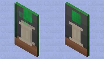 G̷̪̣̗̠̬͈͑͒̂̎́̚͝͠Ř̷̨͙͌͐̉̀́̃̐̑͐Ḝ̶̤̺̣̺̬͚͒̓̆̀͊̕͠È̶̼̭͛́̏̈͠N̷̛̹̗͚̖͙̤̓̏̒͠ (Click For Better Detail) Minecraft Mob Skin