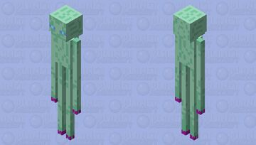 Libra-Coloured Enderman Minecraft Mob Skin