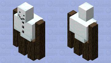 Cursed snow golem Minecraft Mob Skin