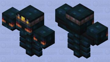 King Wither Minecraft Mob Skin