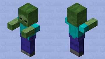 The most intelligent zombie of all time Minecraft Mob Skin