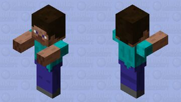 is it to me or Steve is looking chunker than usual Minecraft Mob Skin