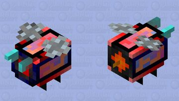 Seeker Drone (Angry/Energized) Minecraft Mob Skin