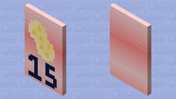 Spongegar15 - Fan Cape Minecraft Mob Skin